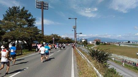 山形まるごとマラソンのコース